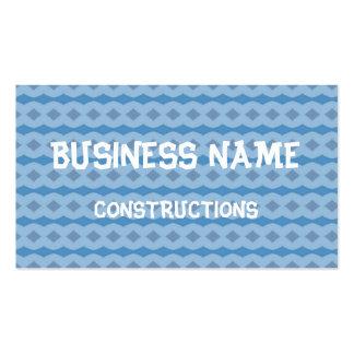 Blue vertical pattern business card templates