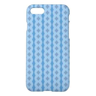 Blue vertical pattern iPhone 7 case