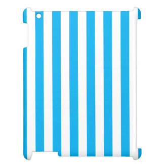 Blue Vertical Stripes Case For The iPad
