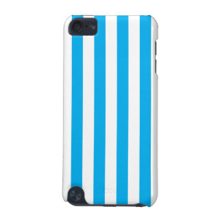 Blue Vertical Stripes iPod Touch (5th Generation) Cases