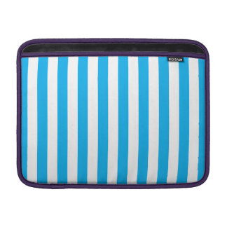 Blue Vertical Stripes Sleeve For MacBook Air