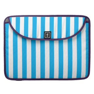 Blue Vertical Stripes Sleeve For MacBook Pro
