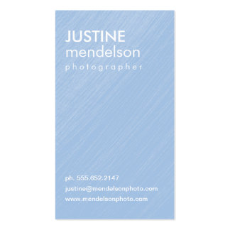 Blue Vintage Camera Photography Business Cards