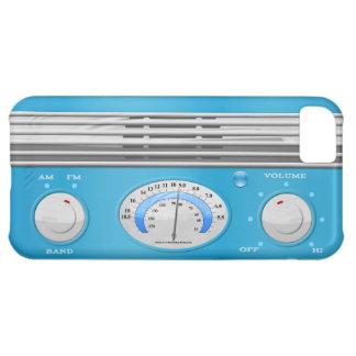 Blue Vintage Radio iPhone 5C Case