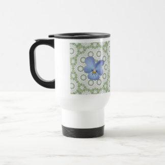 Blue Viola Pansy ~ Cicles Mug