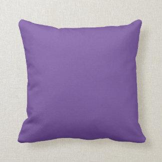 blue violet throw cushion