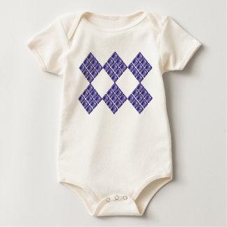 Blue Violet Gems Baby Bodysuit