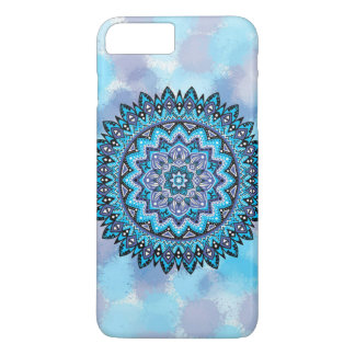 Blue violet mandala iPhone 7 plus case