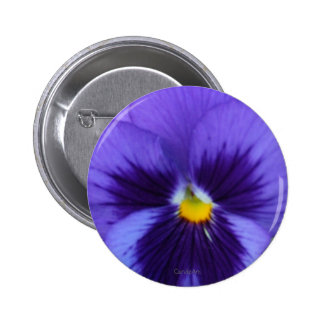 Blue Violet Pansy Pin