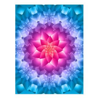 Blue Violet Postcard