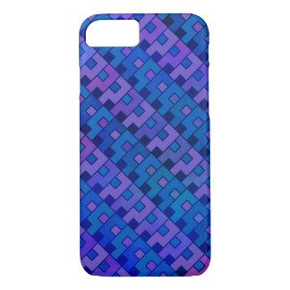Blue Violet Question Pattern iPhone 7 Case