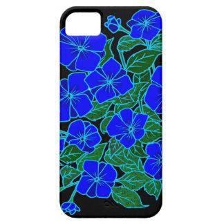 Blue Violets #1 iPhone 5 Case