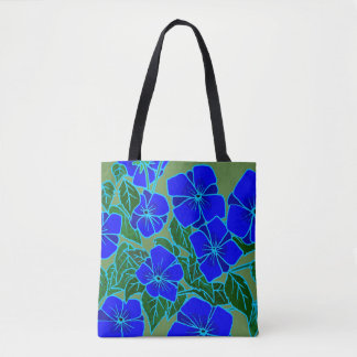 Blue Violets #6 Tote Bag