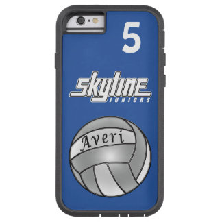 Blue Volleyball iPhone 6 Case Xtreme Tough