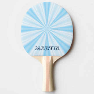 Blue Vortex, Personalized Ping Pong Paddle