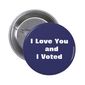 Blue Vote Button