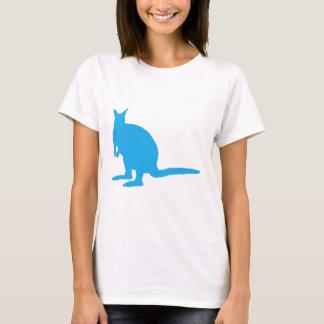 Blue Wallaby. T-Shirt