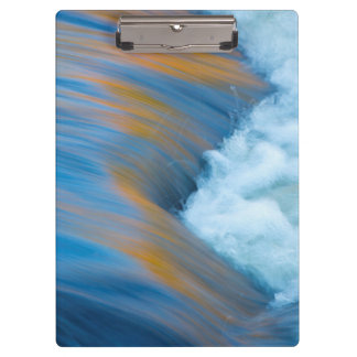 Blue water abstract, Canada Clipboards