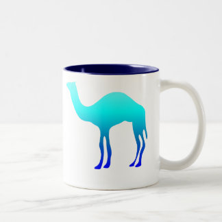 Blue Water Camel Mug