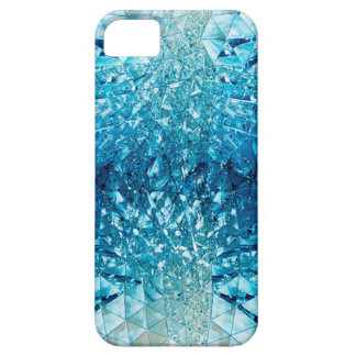 Blue Water Crystals iPhone 5 Cases