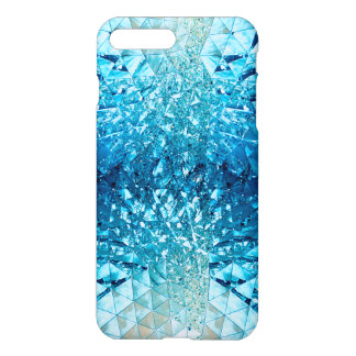 Blue Water Crystals iPhone 7 Plus Case
