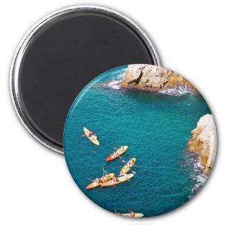 Blue Water Kayaking Magnet