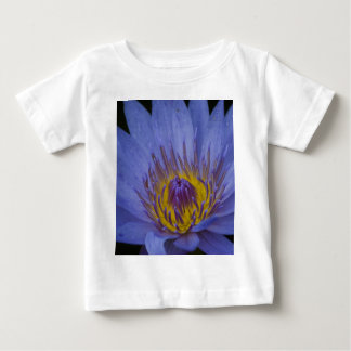 Blue Water Lily Baby T-Shirt