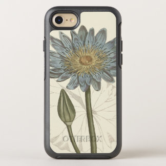 Blue Water Lily Botanical Illustration OtterBox Symmetry iPhone 8/7 Case