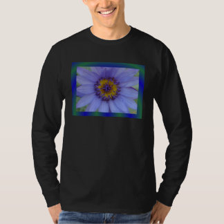 Blue Water Lily Flower T-Shirt
