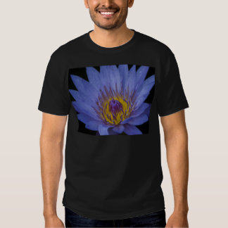 Blue Water Lily T Shirt
