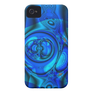Blue water stream, abstract iPhone 4 Case-Mate cases