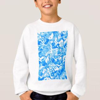 Blue Water texture Sweatshirt