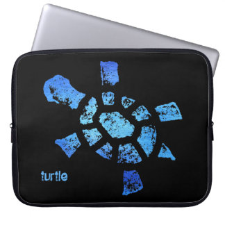 "Blue Water Turtle 15"" Laptop Sleeve"