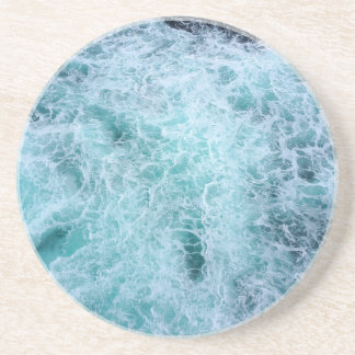 Blue Water Waves Coasters