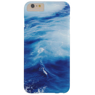 Blue Water Waves in Ocean Barely There iPhone 6 Plus Case
