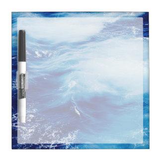 Blue Water Waves in Ocean Dry Erase Board