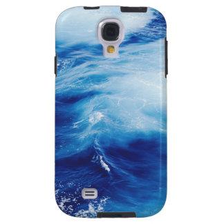 Blue Water Waves in Ocean Galaxy S4 Case