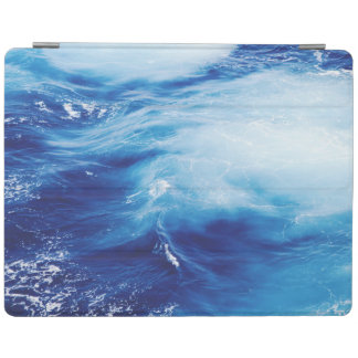 Blue Water Waves in Ocean iPad Cover