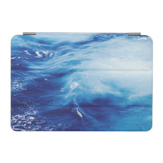 Blue Water Waves in Ocean iPad Mini Cover