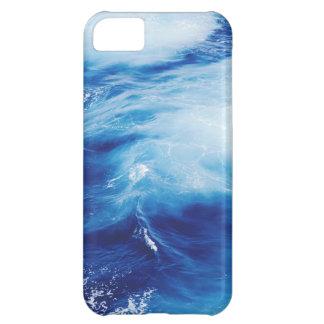 Blue Water Waves in Ocean iPhone 5C Case