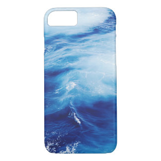 Blue Water Waves in Ocean iPhone 8/7 Case