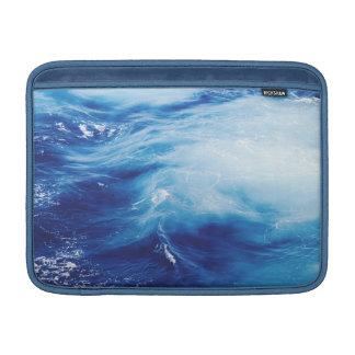 Blue Water Waves in Ocean MacBook Sleeve