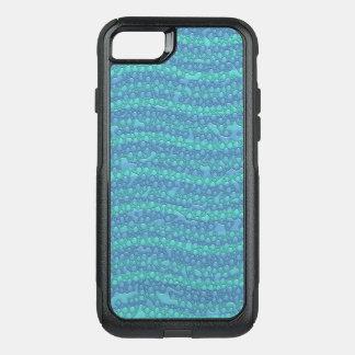Blue Water Waves, Water Drops Mobile OtterBox Commuter iPhone 8/7 Case