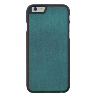 Blue Watercolor Carved® Maple iPhone 6 Slim Case