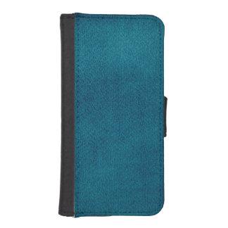 Blue Watercolor iPhone SE/5/5s Wallet Case