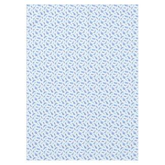 Blue Watercolor Spots Tablecloth 60'' x 84''