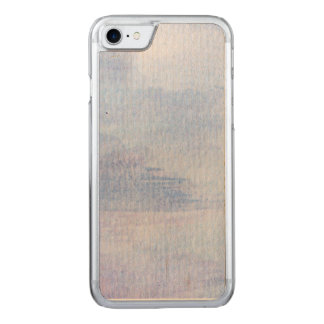 BLUE watercolors Carved iPhone 8/7 Case