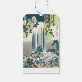 Blue Waterfall Gift Tags
