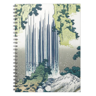 Blue Waterfall Notebooks