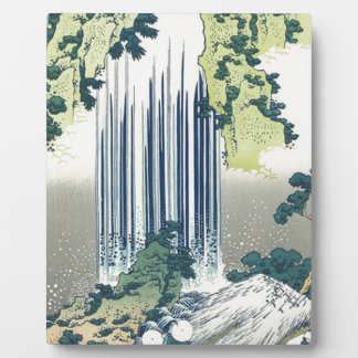 Blue Waterfall Plaque